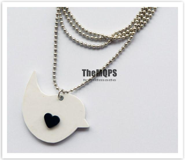TheMQPS ♥ Art: * Come Back * *Birds* necklace naszyjnik z zawieszką, 19.99zl more: themqps.blogspot.com