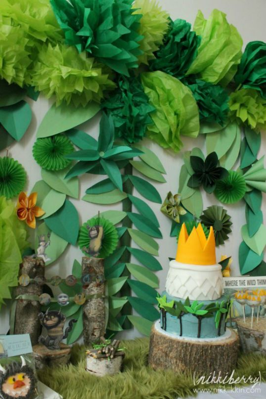 WHERE THE WILD THINGS ARE Party Ideas!