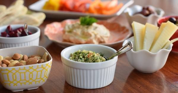 Easy steps to serving small plates, Mediterranean-style.