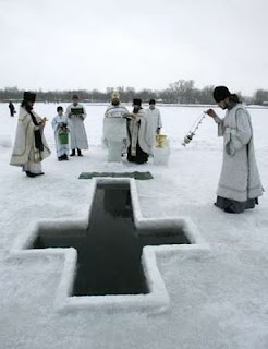 Russian Orthodoxy: the Great Blessing of Water on the Feast of Theophany