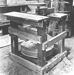d.i.y. pottery kick wheel