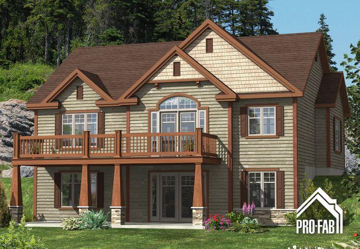 Pro fab constructeur de maisons modulaires usin es pr fabriqu es mod le tourneau dream for Constructeur maison modulaire