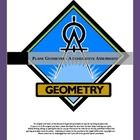 This 100 point assessment is over plane geometry concepts and focuses on using and applying geometry.$