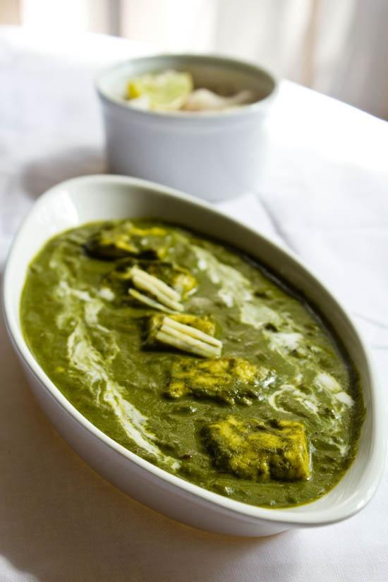 palak paneer - Veg Recipes of India