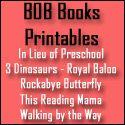 FREE BOB Book Printables: Set 1, Book 1 & 2