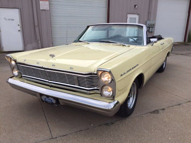 1965 Ford Galaxie 500xl Convertible Auto 352 4 With Images