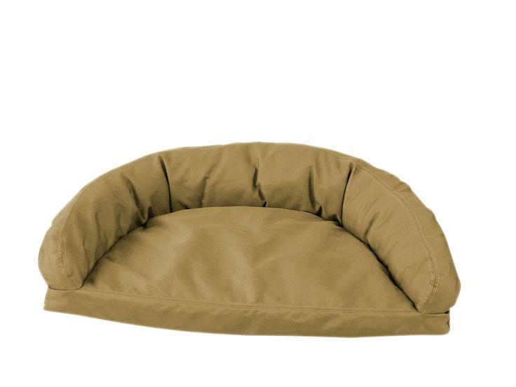 luxury pillow top mattress pet bed in sage