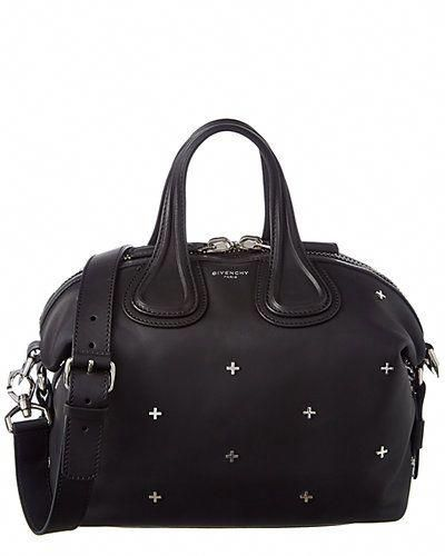 Givenchy Nightingale Small Embellished Leather Satchel  Designerhandbags 8abdca4330000