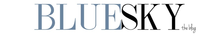 The BlueSky Blog logo