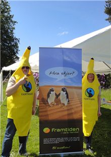 Fairtrade på familiedagen 2015