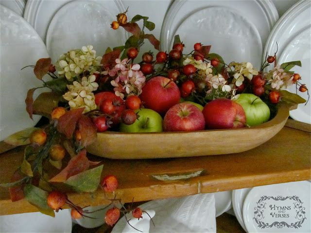 Decorating with Apples for Fall | Hymns and Verses