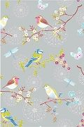 PiP Early Bird Grey Wallpaper | PiP Studio ©
