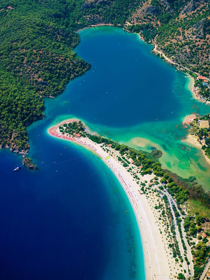 Ölüdeniz Beach, Fethiye, Turkey http://www.vacationrentalpeople.com/vacation-rentals.aspx/World/Europe/Turkey/