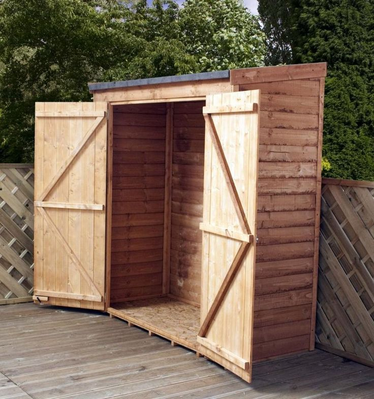 6 x 2 6 pent tool log store shed wood garden sheds storage overlap clad new