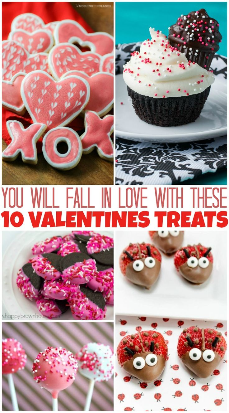 10 Valentine's Day treats to try with your loved ones or classmates #valentine #school #treatyoself