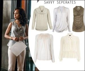 Here's how you can dress like a Scandal gladiator and make the lovely Oliva Pope beam with pride. Check them out.