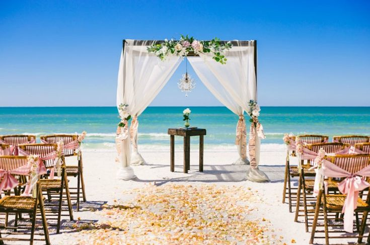 Looking for the perfect Florida Beach Ceremony Package? Sun and Sea Beach Weddings is here to assist you with our custom wedding packages.