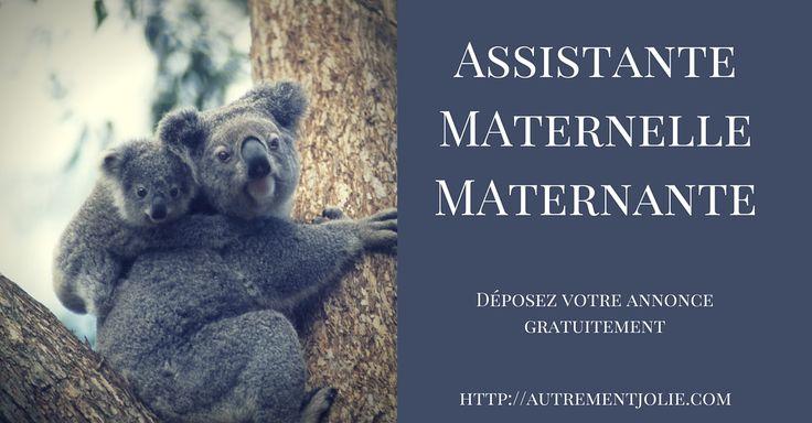 Annnonce gratuite Assistante Maternelle Maternante