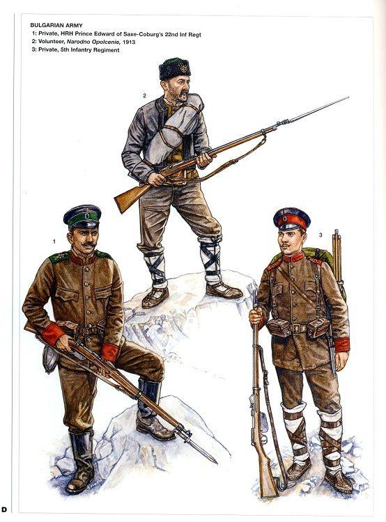 Bulgarian Army 1913