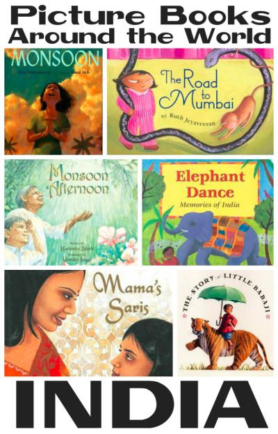 Picture Books about India from Youth Literature Reviews.