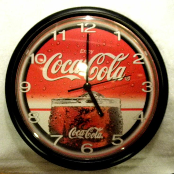 257 Best Images About Coca Cola Clocks Amp Watches On
