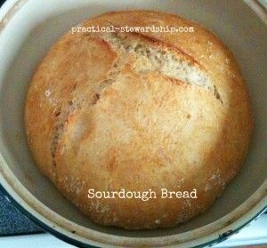 crockpot Sourdough Bread -great for those of us who have hot summers and don't want to use the oven!