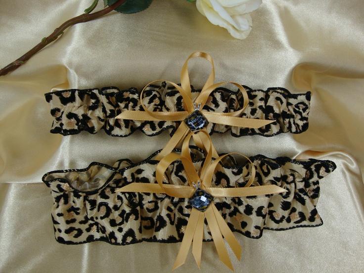Leopard Print Wedding Garter with Leopard Print by StarBridal, $29.95