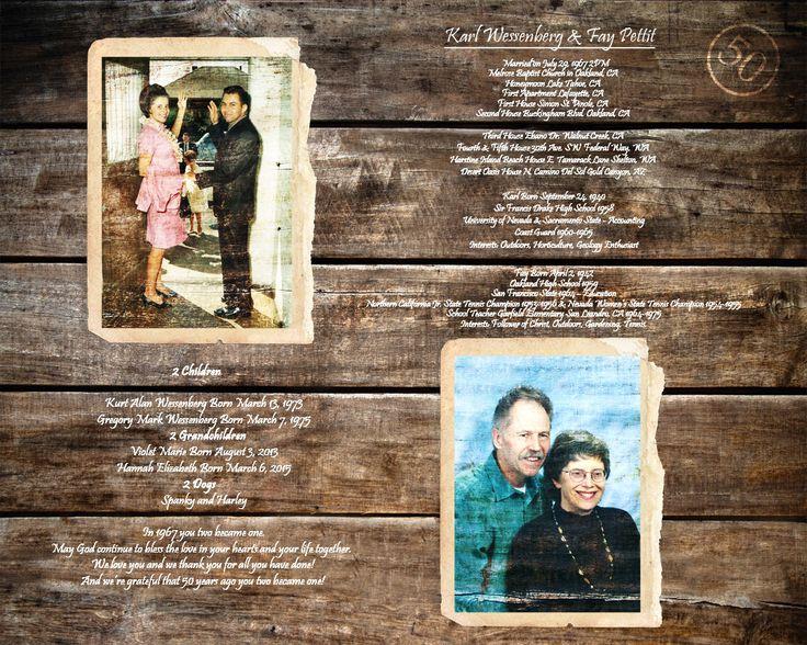 Golden Wedding Anniversary Gift Ideas For Parents: Best 20+ Golden Anniversary Ideas On Pinterest