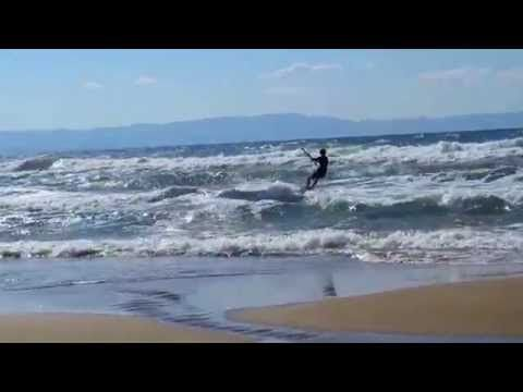 Ride of the Valkyries (by Wagner) kitesurfing in Kastro-Kyllini - YouTube