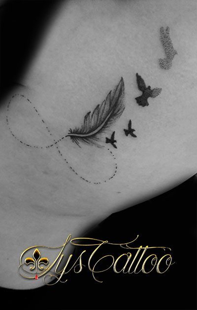 254 best tatouages tattoos by - Tatouage infini oiseau ...