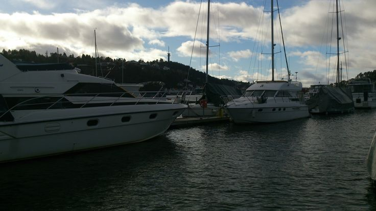At the port, Arendal