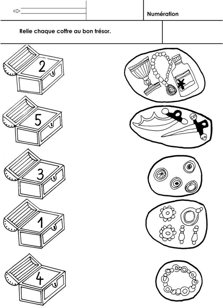 Relier les coffres aux trésors. Quantité à 5. - 1à5 MS.docx - 1à5 MS.pdf