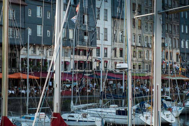 Harbour of Honfleur, France