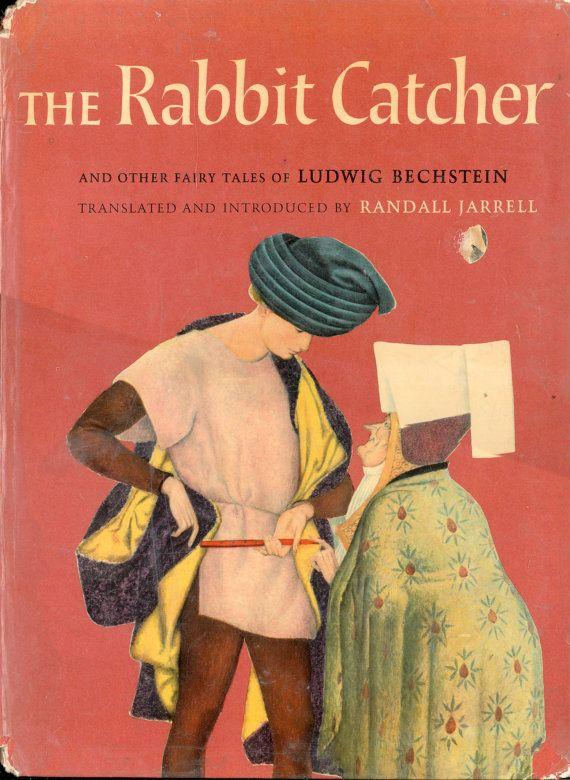 ill Ugo Fontana : Fairy Tale Book  The Rabbit Catcher  1961, Macmillan