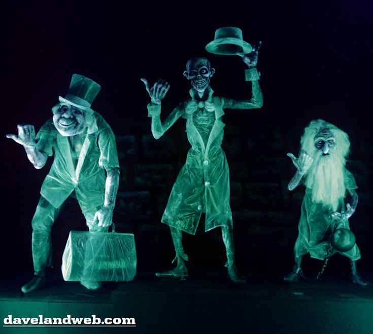 The Haunted Mansion: Hitchhiking Ghosts