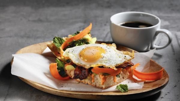 Banh mi for breakfast. Leah Eskin shows you how in Chicago Tribune.