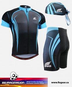 FIXGEAR CS-5602 Set Cycling Jerseys & Padded Shorts