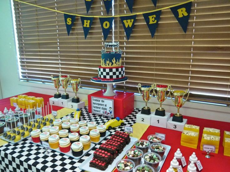 Baby Shower Themes Cars ~ Images about a race car baby shower on pinterest