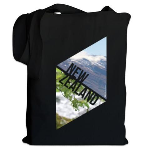 NZ Canvas Bag - Explore NZ - Photo of the great NZ outdoors