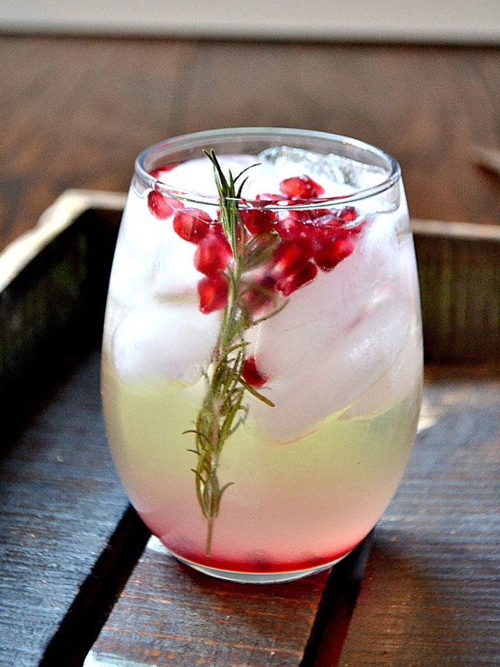 Pomegranate and Rosemary White Sangria Recipe