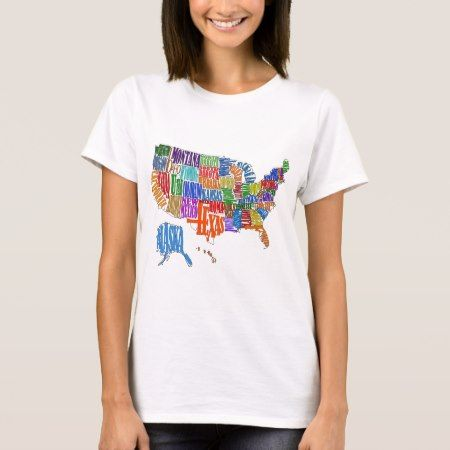 US MAP T-Shirt - tap, personalize, buy right now!