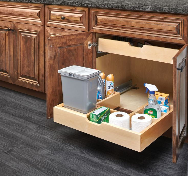 Rev-A-Shelf's U-Shaped Under Sink Organizer is ideal for maximize vanity space around obtrusive plumbing. https://www.rev-a-buzz.com/profile/486-series