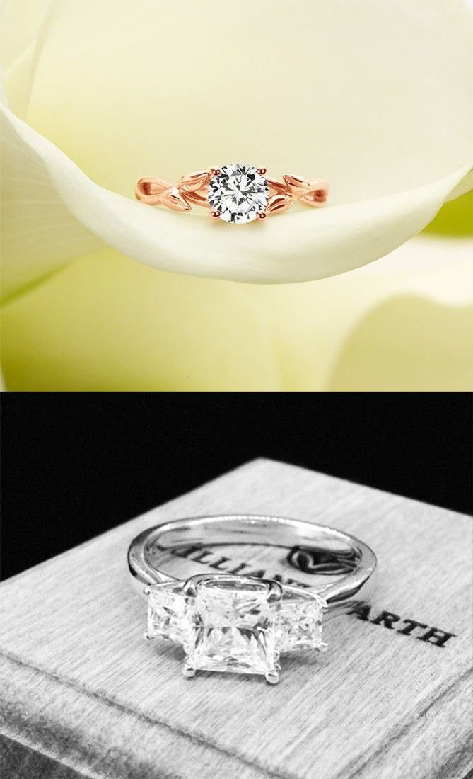 Brilliant Earth is where I'm getting my engagement ring.  They have so much  variety to choose from!