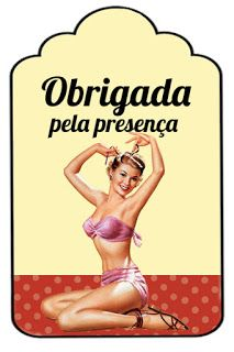 Kit Chá de Lingerie Pin-Up | Download Grátis