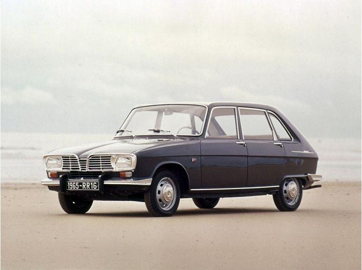 1966 : Renault 16. La première voiture française élu voiture de l'année                                                                                                                                                      Plus