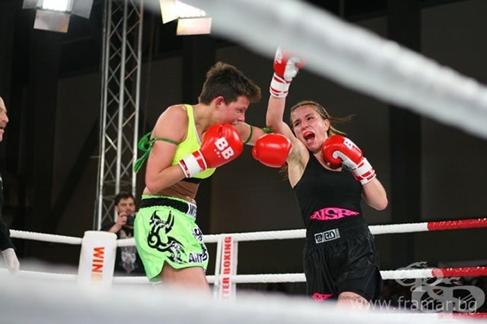 Girl Power 8-woman kickboxing tournament aired live on European television network SFR Sport 5 on Friday, February 10, 2017.