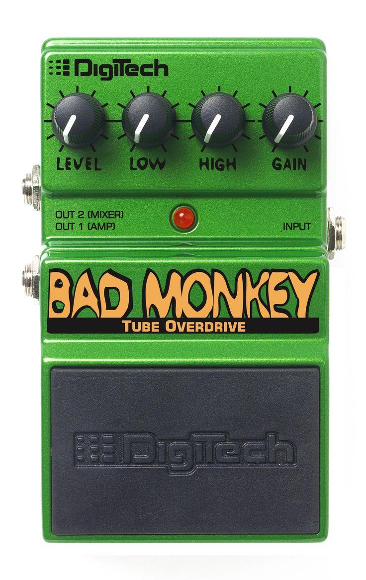 Digitech Bad Monkey Overdrive Guitar Pedal: Amazon.co.uk: Musical Instruments