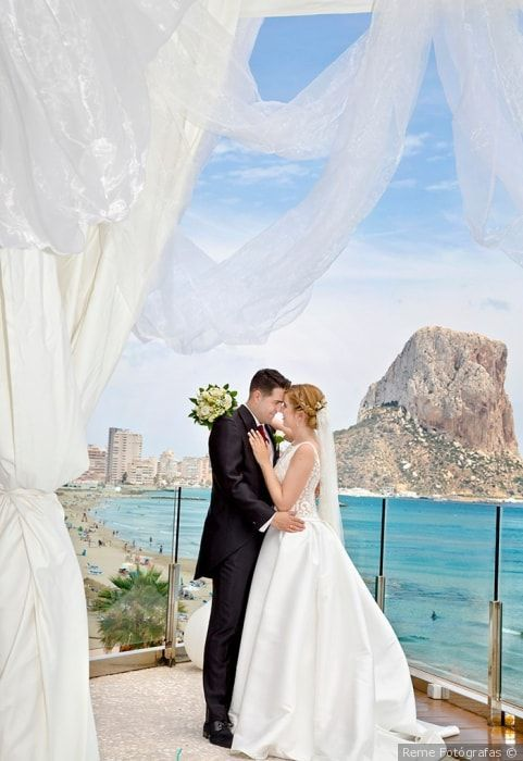 #justmarried #síquiero #frentealmar #PeñóndeIfach