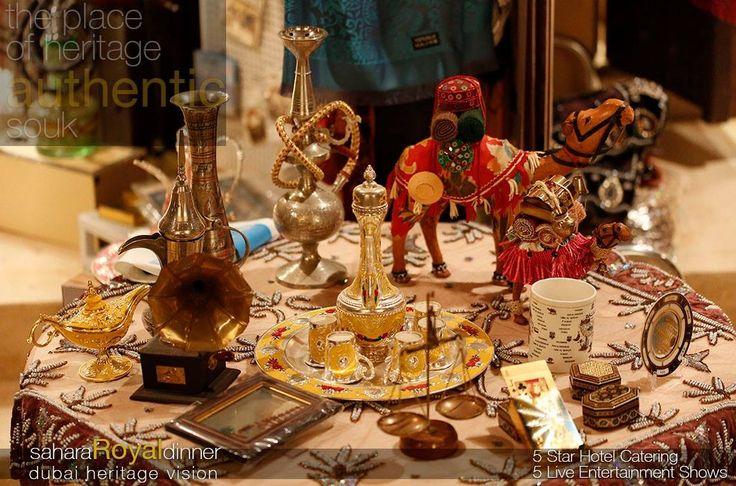 Traditional #souk shows the beauty of #culture. #sahara #royal #dinner is a unique visit should never forget. drive to door steps #AC air conditioned #venue in #dubai #desert #5star #hotel #catering #live #show #entertainment tour-Dubai.com 800TOURDUBAI