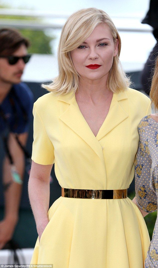 Kirsten Dunst on Wednesday 11th of May in the opening of the 2016 Cannes festival week where she will act as a juror.